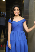 Actress Ritu Varma Pos in Blue Short Dress at Keshava Telugu Movie Audio Launch .COM 0050.jpg