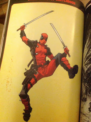 deadpool comic hero