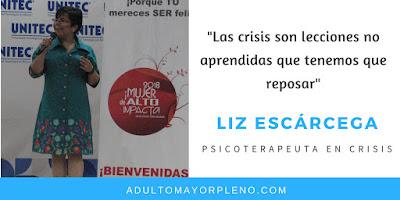 """""""Las crisis son lecciones no aprendidas que tenemos que reposar"""""""
