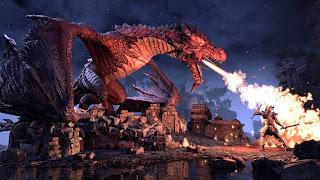 Elder Scrolls Online: Elsweyr PS4 Wallpaper