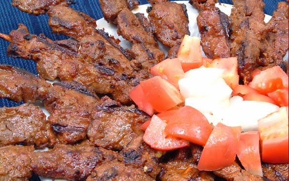Tasty Suya and Tomatoes
