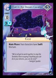 MLP Call in the Dream Cavalry High Magic CCG Card