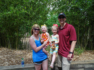 Mother's Day at the Birmingham, Alabama zoo