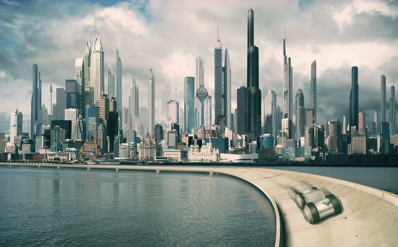Funny Pictures Gallery: Future City, Future Green City