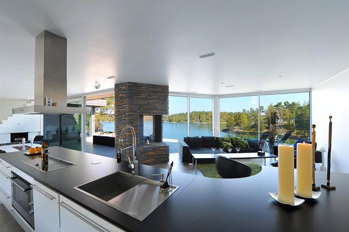 casas minimalistas y modernas casa vanguardista en estocolmo