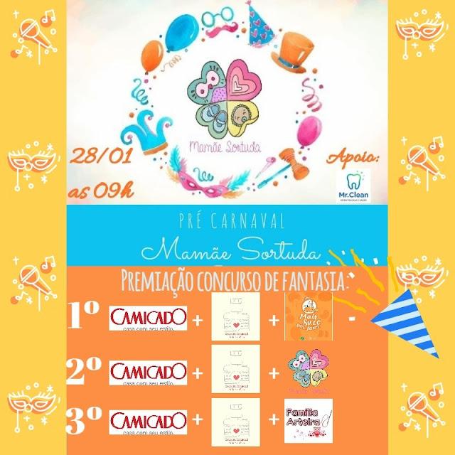 concurso de fantasia mamae sortuda evento de carnaval