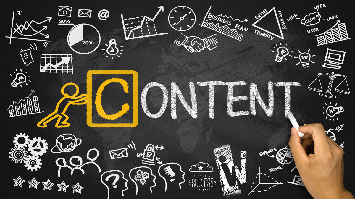 Content Marketing Campaign - Creating content