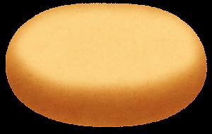 ハンバーガーの具材のイラスト(ヒール(下部))