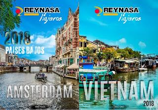 Ámsterdam y Vietnam, destino de los viajes Plata y Oro de Reynasa para 2018