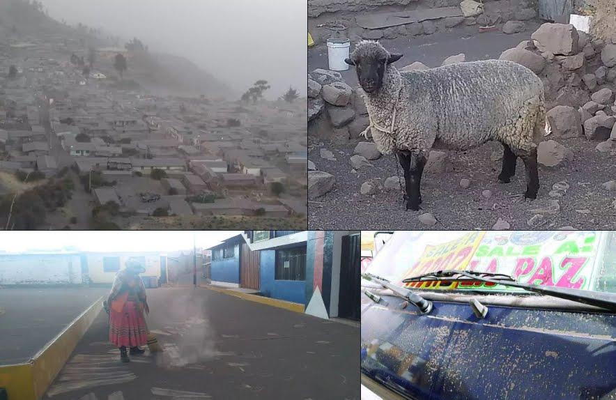 VIDEO Eruzione Vulcano Ubinas, emergenza in Perù.