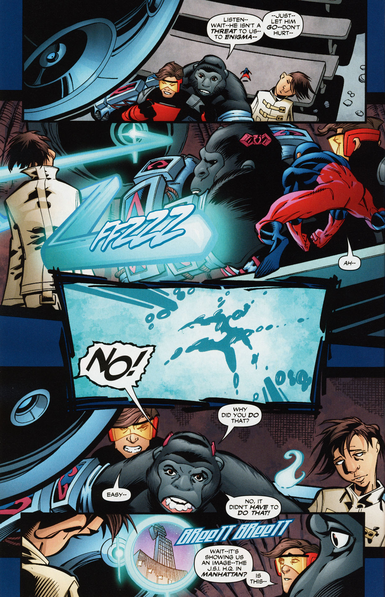Read online Trinity (2008) comic -  Issue #36 - 29