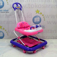 family fb1817 car melody baby walker