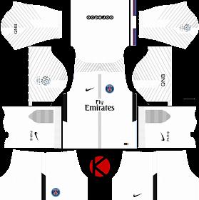 Paris Saint-Germain (PSG) kits 2017/2018 - Dream League ...