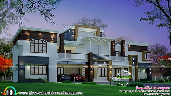 February 2016 kerala home design and floor plans for Western style house plans