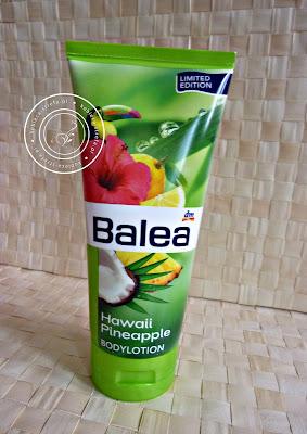 Letni powiew w zimowy dzień czyli balsam do ciała Balea - hawaii pineapple