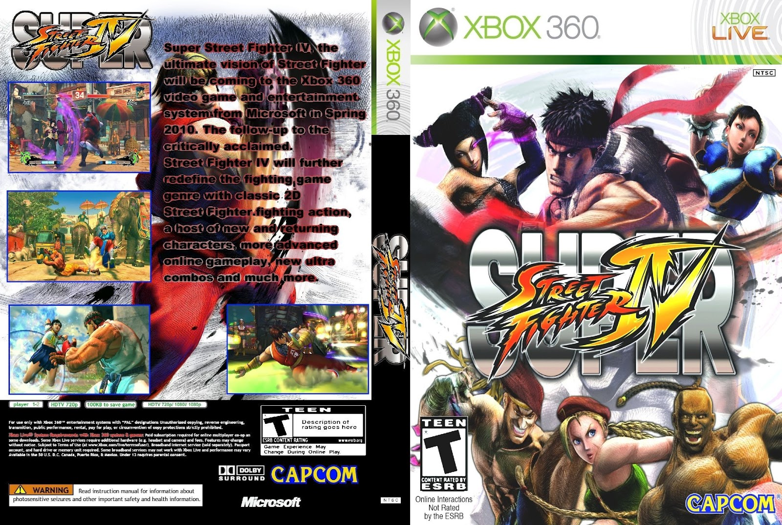 <b>Super</b> <b>Street</b> <b>Fighter</b> <b>IV</b> Arcade Edition - gamekult.com
