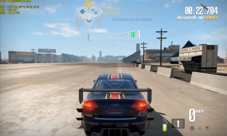تحميل لعبة Need for Speed Shift 2 للكمبيوتر