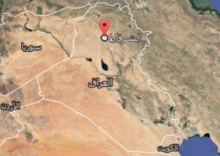 عاجل القوات العراقية  تقتل 9 اتتحاريين في الشرقاط شمال صلاح الدين