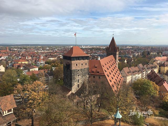 Vista de parte del recinto del Castillo Nuremberg