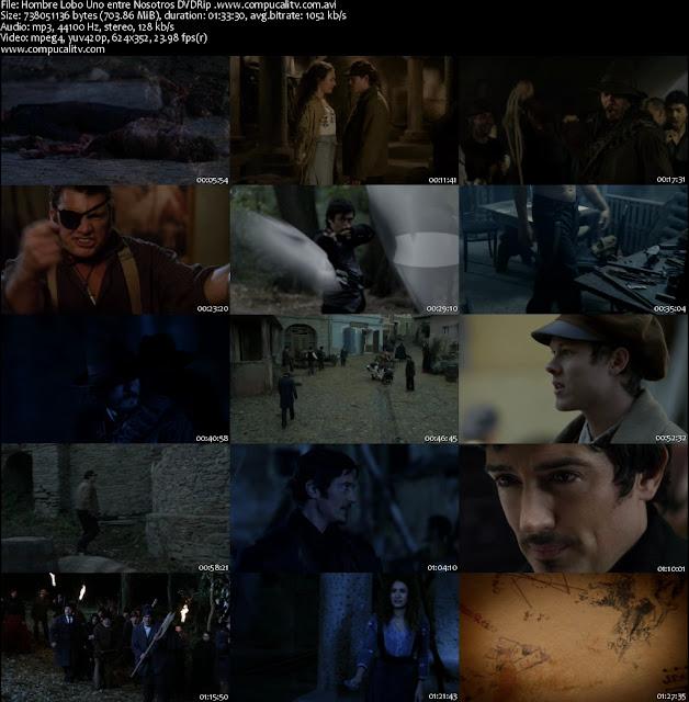 Hombre Lobo Uno entre Nosotros DVDRip Español Latino Película 2012