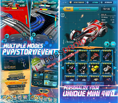 Download Game Mini Legend - Mini 4WD PVP Mod Apk Terbaru