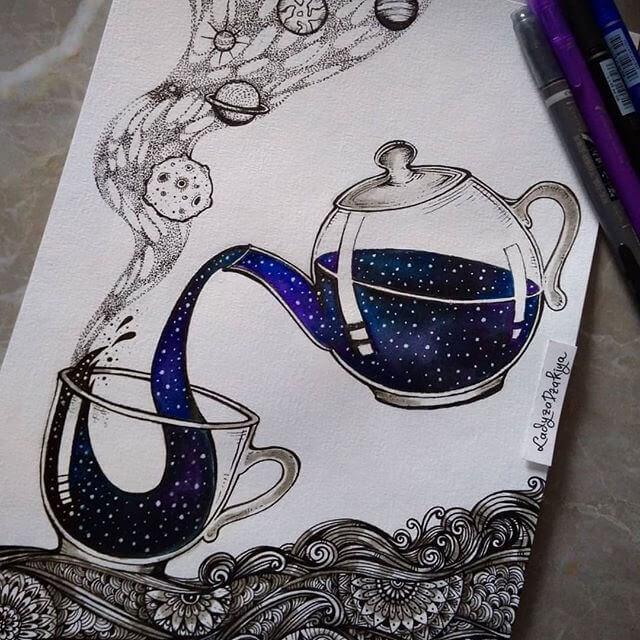 04-Tea made from Stars-Anugrah-Momof-Mandala-Art-www-designstack-co