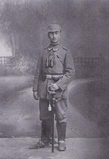 Alfred Thielecke, an NCO of 7 Kompanie, 121 RIR found at Serre 2003