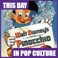 """Pinocchio"" was released on February 7, 1940."