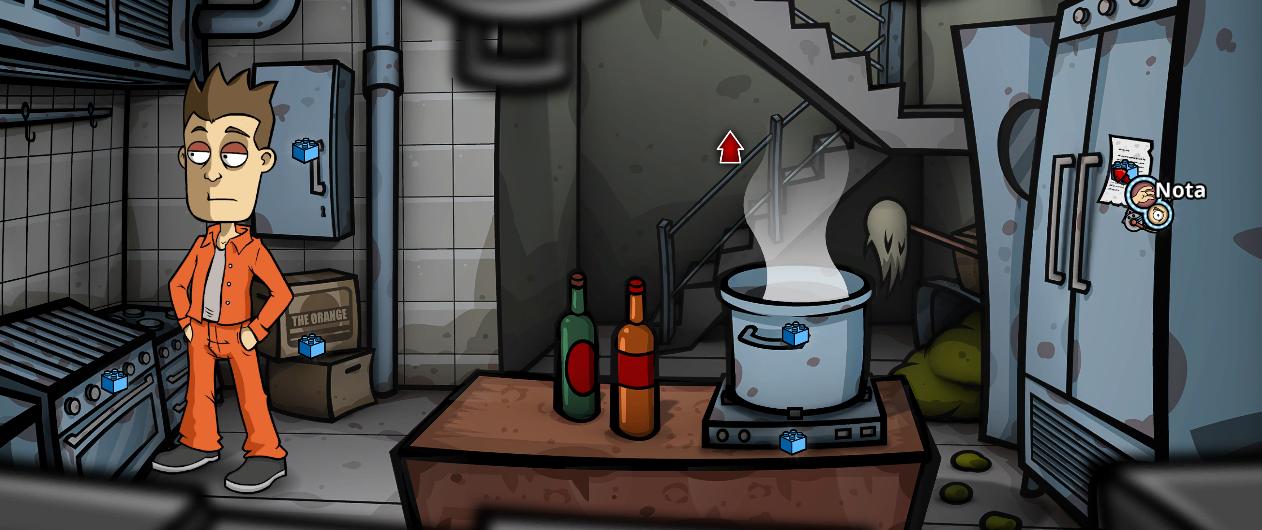 Cocina de la cárcel.