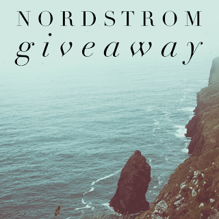 Enter the Nordstrom Insta Giveaway. Ends 4/7