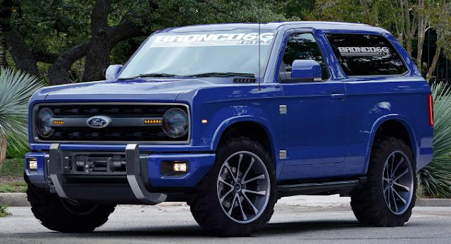 2019 Ford Bronco Rumors