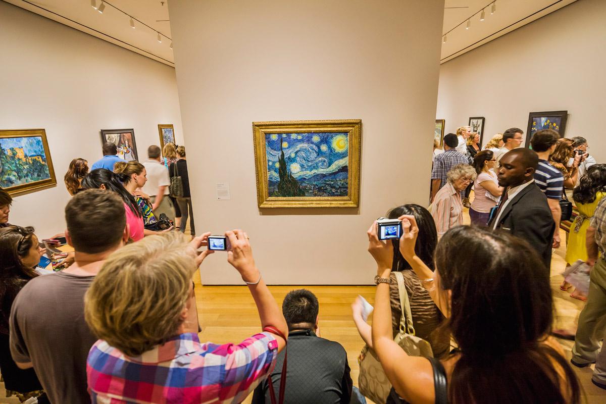 la%2Bnoche%2Bestellada%2Bmuseo - Lo que no sabías sobre la Noche Estrellada de Van Gogh