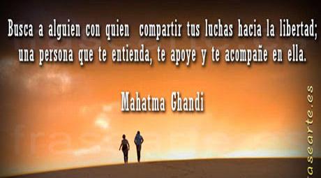 Frases célebres de Mahatma Ghandi