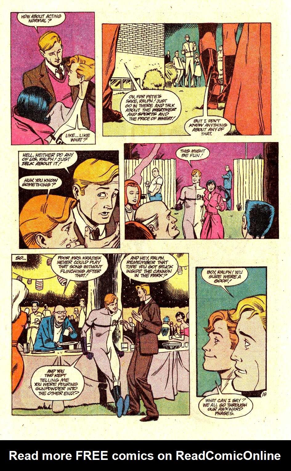 Read online Secret Origins (1986) comic -  Issue #30 - 20