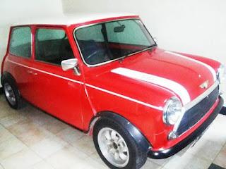 Dijual Klasik Mini Cooper 1000 '76 Harga 300 Juta