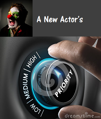 Priorities for a new actor