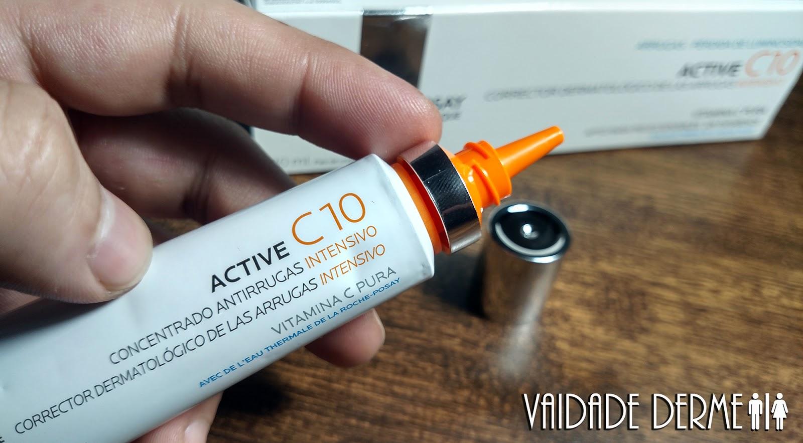 Qual a Melhor Vitamina C: Ada Tina Pure C 20 OU La Roche-Posay Active C 10?