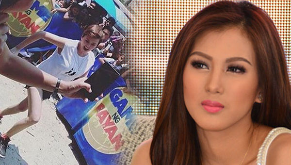 Angelica Panganiban wants Alex Gonzaga axed from Game ng Bayan