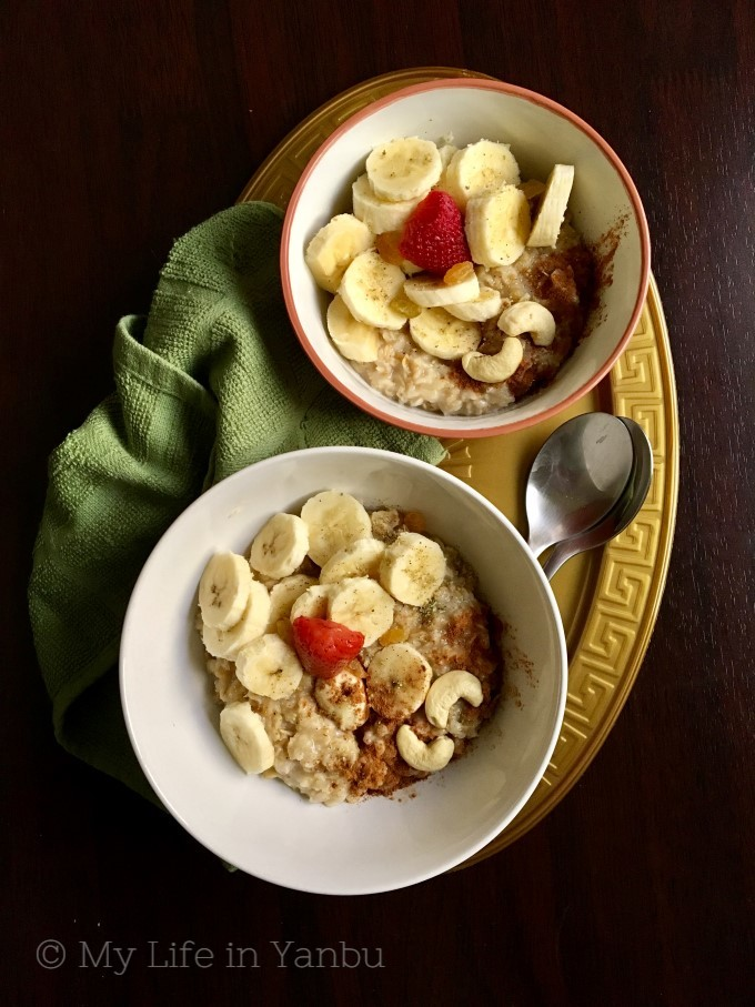 Oatmeal Routine and Ideas