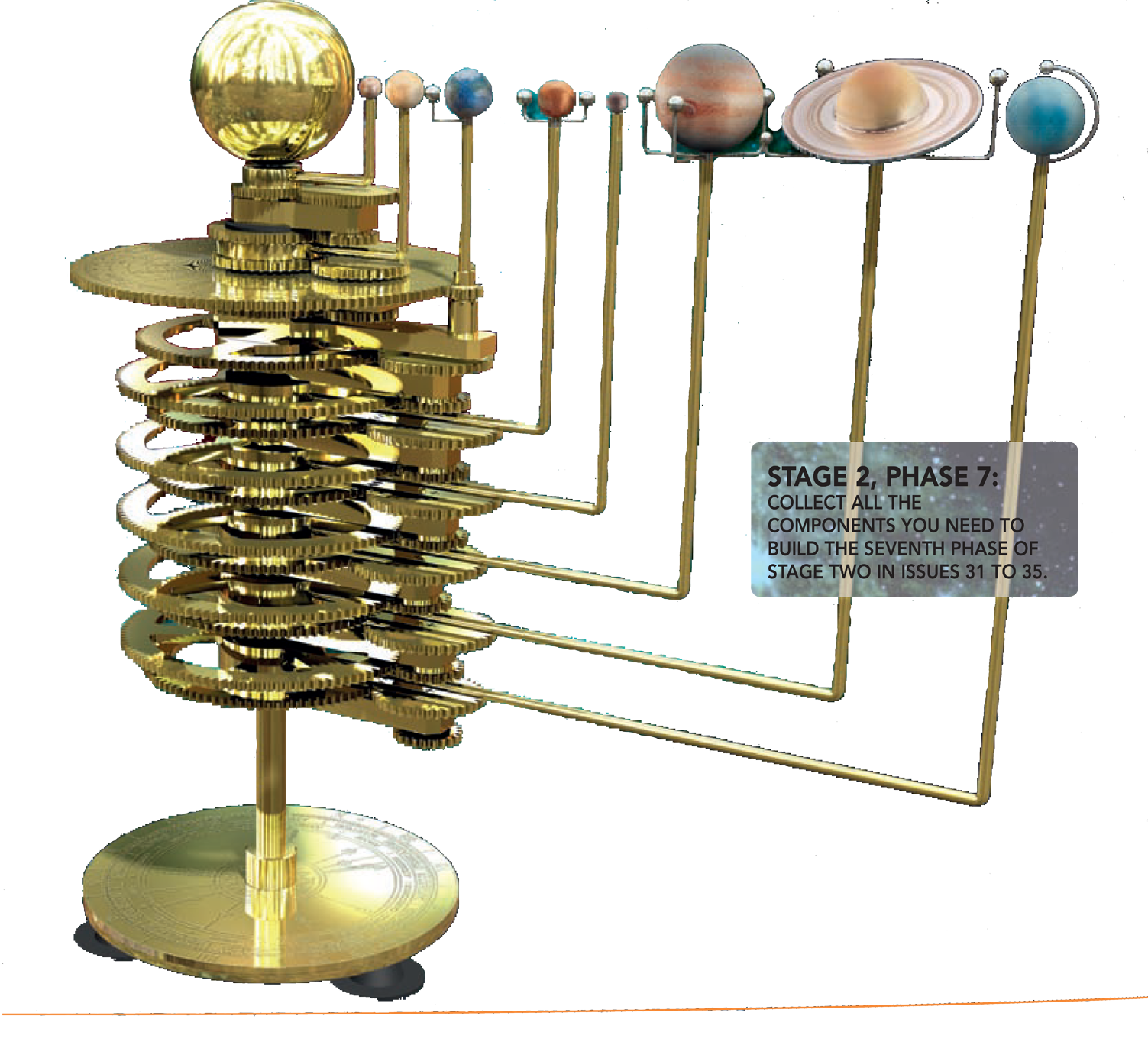solar system model to scale - photo #34