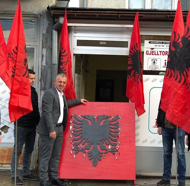 Albanian humanist Halil Kastrati donates 28 homes to poor on the Flag Day