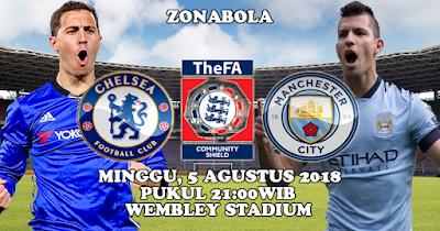 Prediksi Bola Chelsea vs Manchester City 5 Agustus 2018