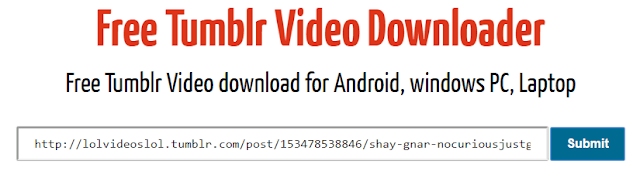 free tumblr video downloader for free