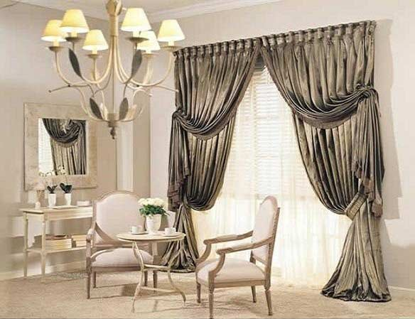 The best types of curtains and curtain design styles 2018