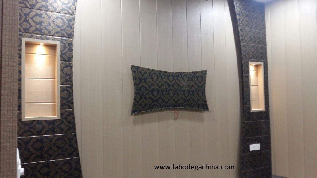 Paneles pvc paredes en conclusin podemos elegir entre una - Paneles para revestir paredes ...
