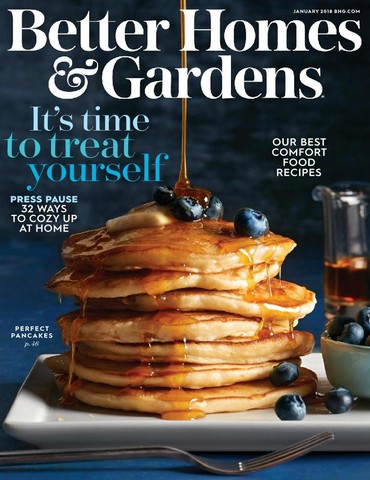 Better Homes And Gardens January 2018