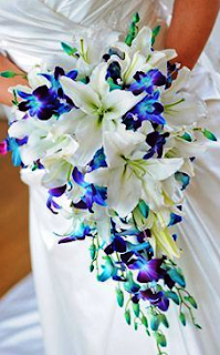 Wedding Bouquet Orchids