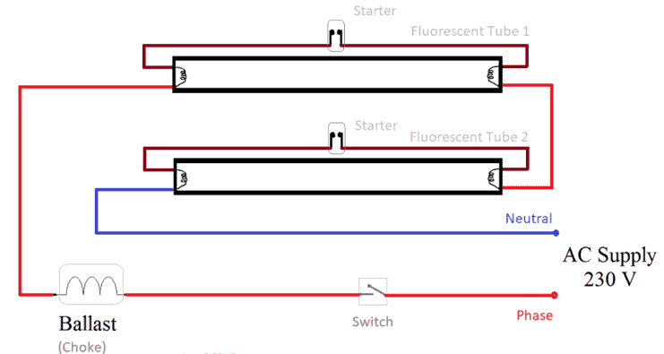 2 way switch wiring diagram fig 1 two wazipoint engineering science   technology tube light wiring  tube light wiring