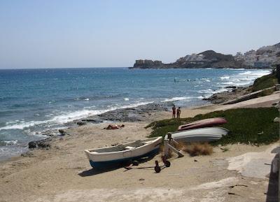 Playa de S. José en Cabo de Gata
