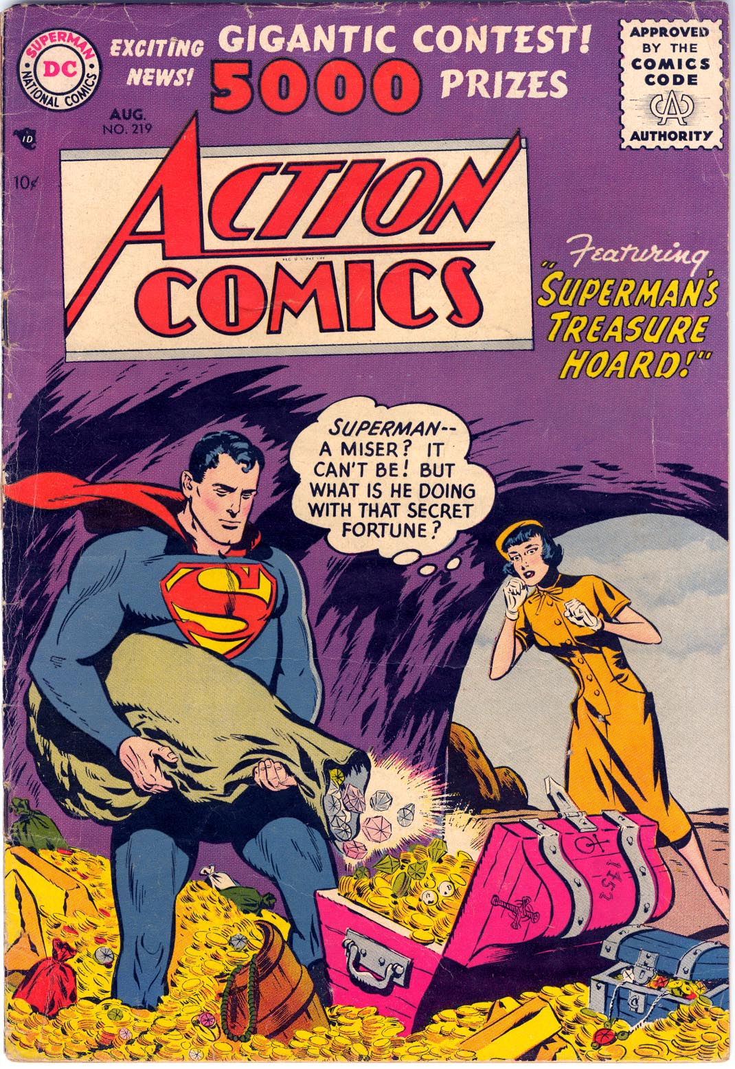 Action Comics (1938) 219 Page 1